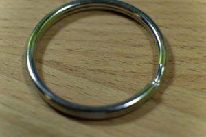 Металлическое кольцо для ключей