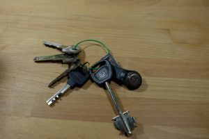 Ключи с проволокой для ключей