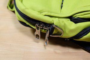 Хромированные элементы рюкзака