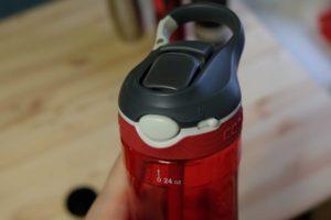 Кнопка для питья и блокировки механизма раскрытия